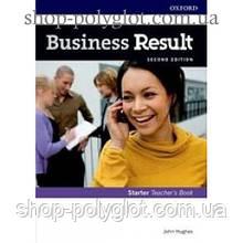 Книга для учителя Business Result Second Edition Starter Teacher's Book with DVD