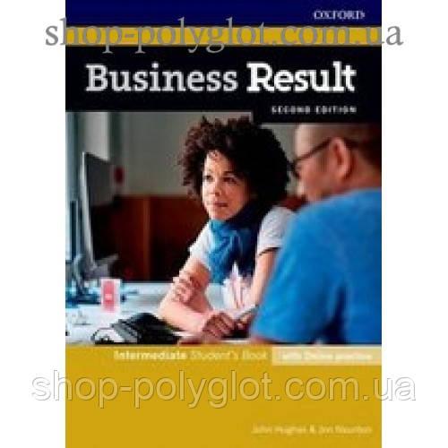 Учебник Business Result Second Edition Intermediate Student's Book with Online Practice