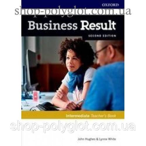 Книга для учителя Business Result Second Edition Intermediate Teacher's Book with DVD