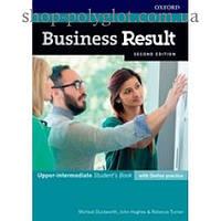 Учебник Business Result Second Edition Upper-Intermediate Student's Book with Online Practice