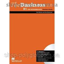 Книга для учителя The Business 2.0 Pre-Intermediate B1 Teacher's Book + Resource Disc
