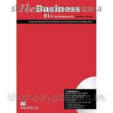 Книга для учителя The Business 2.0 Intermediate B1+ Teacher's Book + Resource Disc
