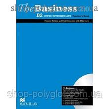 Книга для учителя The Business 2.0 Upper Intermediate B2 Teacher's Book + Resource Disc