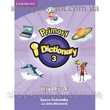 Словарь английского языка Primary i - Dictionary 3 High elementary Workbook with CD-ROM