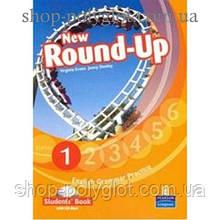Учебник английского языка New Round-Up Grammar Practice Level 1 Student Book + CD-ROM