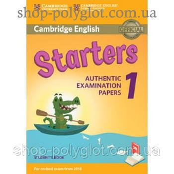 Тести з англійської мови Cambridge English 1 for Starters Revised Exam from 2018 student's Book