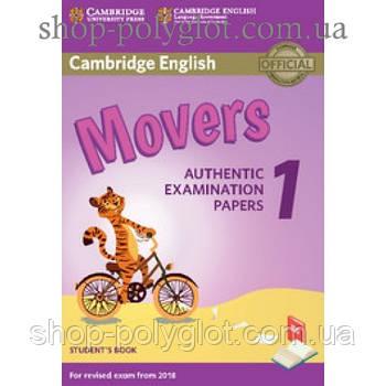 Тести з англійської мови Cambridge English movers 1 for Revised Exam from 2018 student's Book