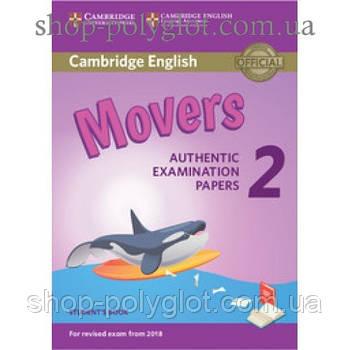 Тести з англійської мови Cambridge English movers 2 for Revised Exam from 2018 student's Book