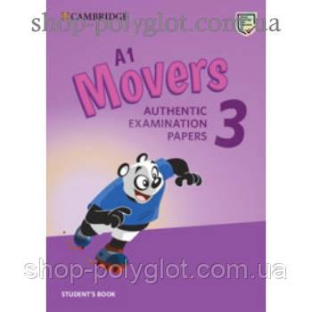 Тести з англійської мови Cambridge English movers 3 for Revised Exam from 3018 student's Book
