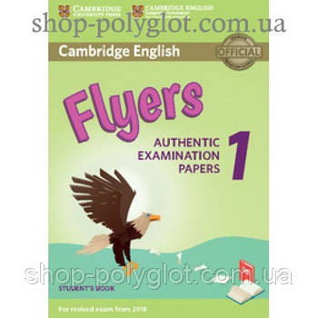 Тести з англійської мови Cambridge English Flyers 1 for Revised Exam from 2018 student's Book