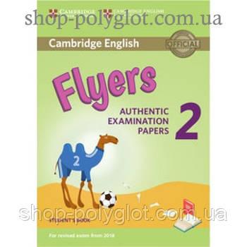 Тести з англійської мови Cambridge English Flyers 2 for Revised Exam from 2018 student's Book