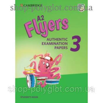 Тести з англійської мови Cambridge English Flyers 3 for Revised Exam from 3018 student's Book