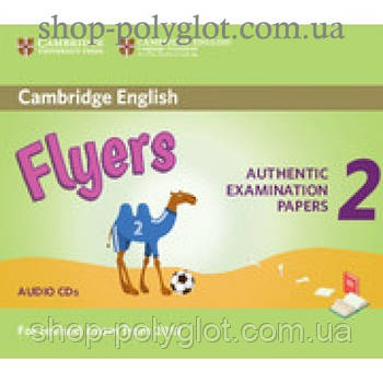Диск Cambridge English Flyers 2 for Revised Exam from 2018 Audio CD