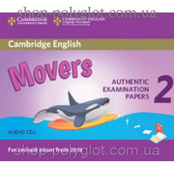 Диск Cambridge English movers 2 for Revised Exam from 2018 Audio CD