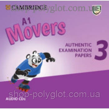Диск Cambridge English movers 3 for Revised Exam from 3018 Audio CD