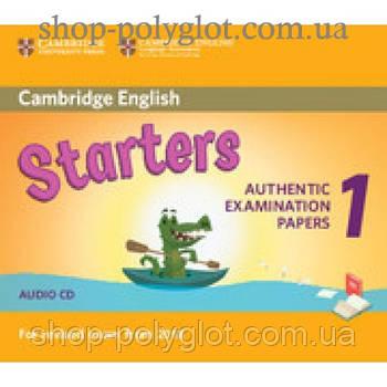 Диск Cambridge English 1 for Starters Revised Exam from 2018 Audio CD