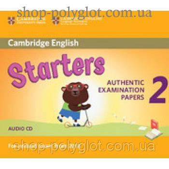 Диск Cambridge English 2 for Starters Revised Exam from 2018 Audio CD
