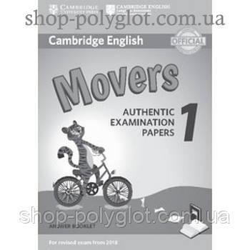 Відповіді Cambridge English movers 1 for Revised Exam from 2018 Answer Booklet