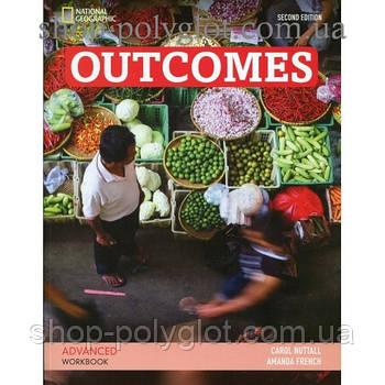Рабочая тетрадь Outcomes 2nd Edition Advanced Workbook + Audio CD