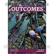 Учебник английского языка Outcomes 2nd Edition Elementary Student's Book + Class DVD