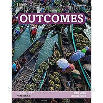 Рабочая тетрадь Outcomes 2nd Edition Elementary Workbook + Audio CD