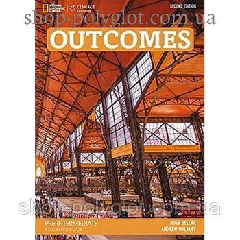 Учебник английского языка Outcomes 2nd Edition Pre-Intermediate Student's Book + Class DVD