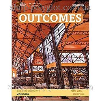 Рабочая тетрадь Outcomes 2nd Edition Pre-Intermediate Workbook + Audio CD