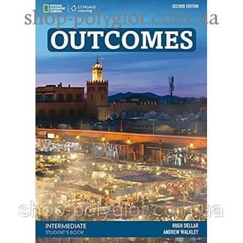 Учебник английского языка Outcomes 2nd Edition Intermediate Student's Book + Class DVD