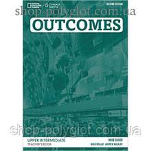 Книга для учителя Outcomes 2nd Edition Upper-Intermediate Teacher's Book + Class Audio CD