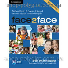 Диск Face2face Second edition Pre-intermediate Testmaker CD-ROM and Audio CD