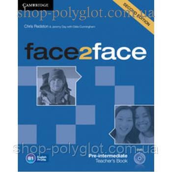 Книга для вчителя Face2face Second edition Pre-intermediate teacher's Book with DVD