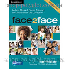 Диск Face2face Second edition Intermediate Testmaker CD-ROM and Audio CD