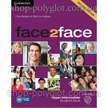 Учебник английского языка Face2face Second edition Upper Intermediate Student's Book with DVD-ROM