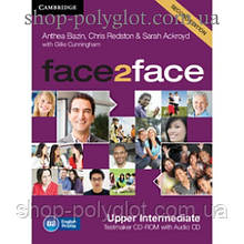 Диск Face2face Second edition Upper Intermediate Testmaker CD-ROM and Audio CD
