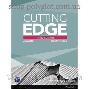 Підручник англійської мови Cutting Edge Advanced 3rd edition Students' Book and Pack DVD
