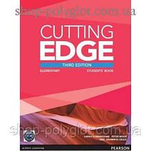 Учебник английского языка Cutting Edge Elementary 3rd edition Students' Book and DVD Pack