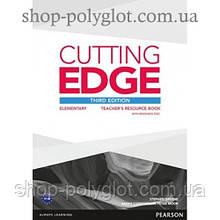 Книга для учителя Cutting Edge Elementary 3rd edition Teacher's Book with Teacher's Resources Disk Pack