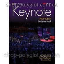 Учебник английского языка Keynote Proficient Student's Book with DVD-ROM