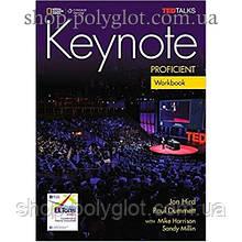 Рабочая тетрадь Keynote Proficient Workbook with Audio CDs