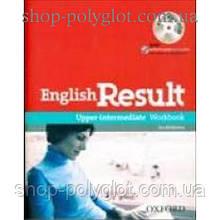 Рабочая тетрадь English Result Upper-Intermediate Workbook with Answer Booklet and MultiROM Pack