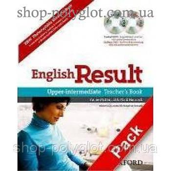 Книга для вчителя English Result Upper-Intermediate teacher's Book with Pack DVD