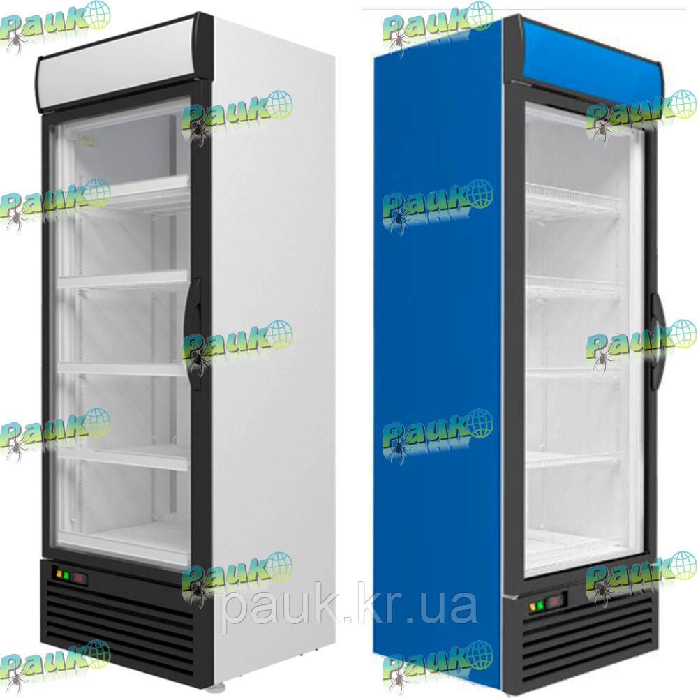 Шафа холодильна Medium(605 л), зі скляними дверима
