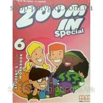 Підручник англійської мови Zoom in 6 student's Book + Workbook + CD-ROM