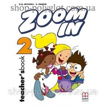 Книга для вчителя Zoom in 2 teacher's Book