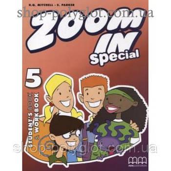 Підручник англійської мови Zoom in 5 student's Book + Workbook + CD-ROM