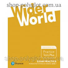 Упражнения Wider World Exam Practice Pearson Tests of English General Level 1(A2)