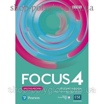 Підручник Focus Second Edition 4 student's Book