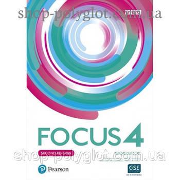 Робочий зошит Focus Second Edition 4 Workbook