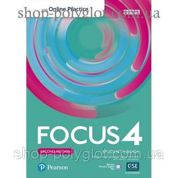Підручник Focus Second Edition 4 student's Book with Online Practice