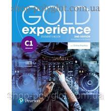 Учебник английского языка Gold Experience Second Edition C1 Student's Book with Online Practice
